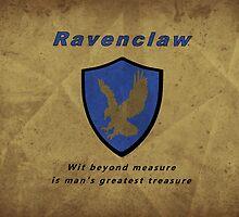 Ravenclaw House Hogwarts House by Jennifer Hughey