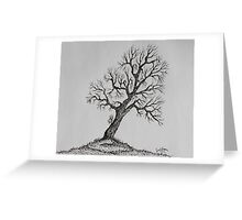 Hilltop Tree Greeting Card