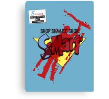 Ash's S-Mart blood-soaked t-shirt Canvas Print