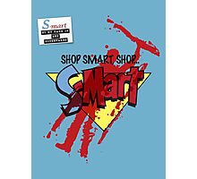 Ash's S-Mart blood-soaked t-shirt Photographic Print