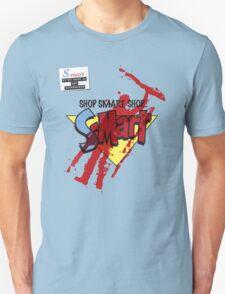 Ash's S-Mart blood-soaked t-shirt Unisex T-Shirt