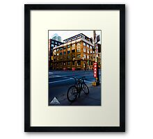 Fifth Bicycle Framed Print