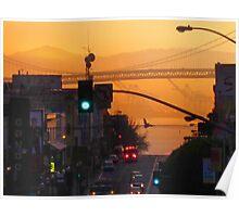 Broadway Sunrise Poster