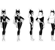 Batgirl Turnaround by Travis Wayne