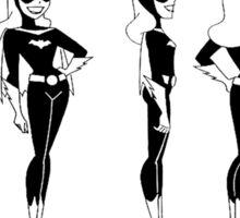 Batgirl Turnaround Sticker