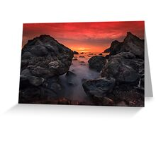 Red Sky by Night... Greeting Card