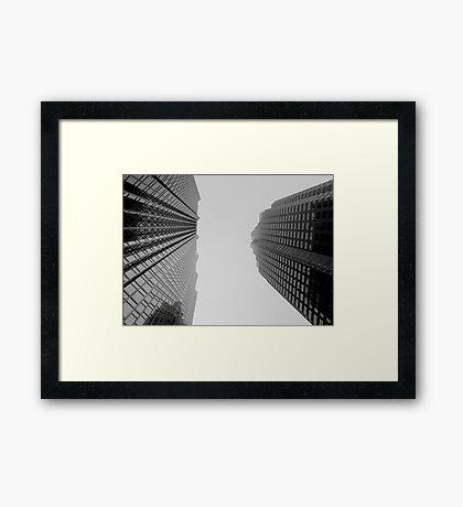 Two Giants Framed Print