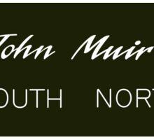 John Muir Trail Sign, California, USA Sticker