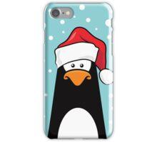 Christmas Pensive Penguin iPhone Case/Skin