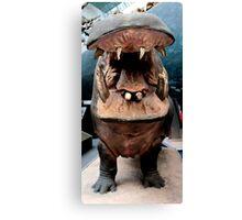 I Wanna Hippopotamus...  Canvas Print