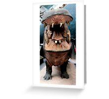 I Wanna Hippopotamus...  Greeting Card