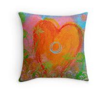love heart 6 Throw Pillow