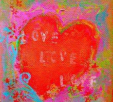 love heart 2 by bibje