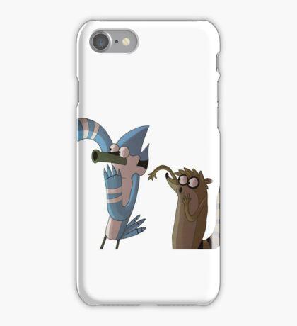 Mordecai and Rigby OOOOOHHHH stuff iPhone Case/Skin