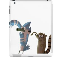 Mordecai and Rigby OOOOOHHHH stuff iPad Case/Skin
