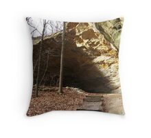 Council Overhang of the Illinois Throw Pillow