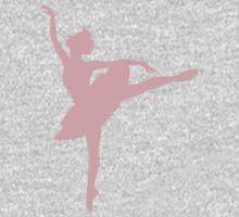 Ballerina (pink) One Piece - Short Sleeve