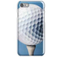 Golf ball iPhone Case/Skin