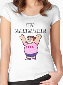 "IT""S GRENDA TIME! Women's Fitted Scoop T-Shirt"