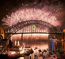 Simply The Best ! - Sydney NYE Fireworks  #10 by Philip Johnson