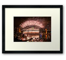 Simply The Best ! - Sydney NYE Fireworks  #10 Framed Print