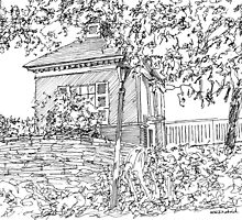 Approaching the Toll House by W. H. Dietrich