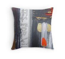 crowchinas 12 Throw Pillow
