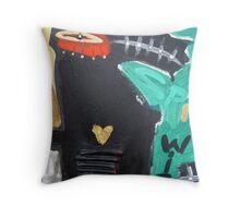 crowchinas 13 Throw Pillow