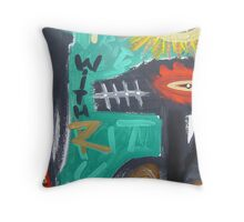 crowchinas 14 Throw Pillow