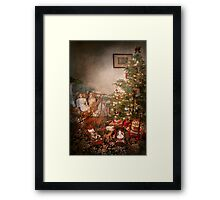 Christmas - My first Christmas  Framed Print