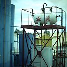 Fuel Container - Tilt shift photo by MuscularTeeth
