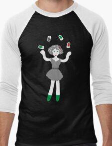 Socialmedia Lady - skillful Men's Baseball ¾ T-Shirt