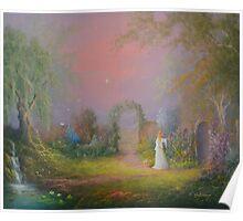 Eowyn In The Garden Of Healing Poster