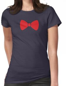 Red Bow Womens Fitted T-Shirt