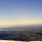 Wales overlook from top of Snowdon by Queenicorn