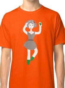 Socialmedia Lady - selfie Classic T-Shirt