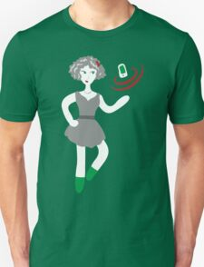 Socialmedia Lady - superpowers Unisex T-Shirt
