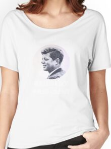 """""""A Time for Greatness"""" - JFK 1960 Campaign - female t-shirt Women's Relaxed Fit T-Shirt"""