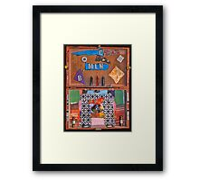 machine lab Framed Print