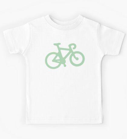 Mint Simple Bike Kids Tee