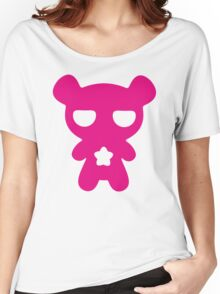 Lazy Bear Pink Women's Relaxed Fit T-Shirt