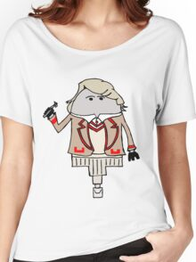 The Fifth Doctor Women's Relaxed Fit T-Shirt