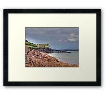 angle lifeboat station Framed Print