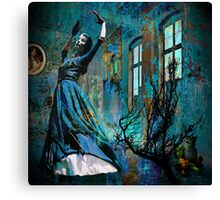 The Blue Minute Canvas Print