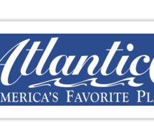 Welcome to Atlantic City, New Jersey, Road Sign, USA Sticker
