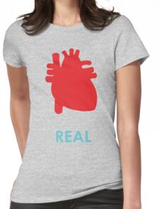 Reality - turquoise Womens Fitted T-Shirt