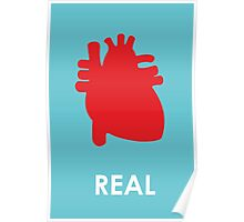Reality - turquoise Poster