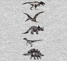 Kingdom of the Dinosaurs Kids Tee