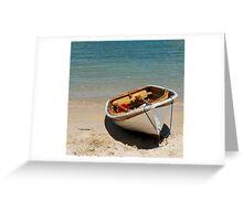Clifton Gardens row boat Greeting Card