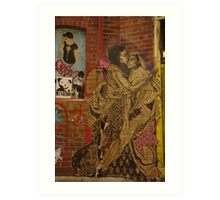 Swoon Art Print